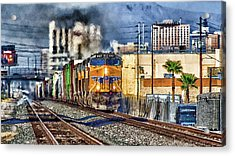 Acrylic Print featuring the photograph You Can Go Your Own Way by Michael Rogers