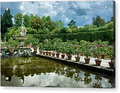 You Have Quite A Garden There Acrylic Print