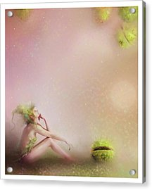 You Have To Be Fairy Patient Acrylic Print