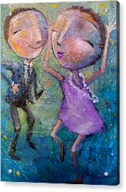 You Make Me Wanna Dance Acrylic Print by Eleatta Diver