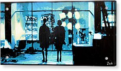 You Met Me At A Very Strange Time In My Life Acrylic Print by Bobby Zeik