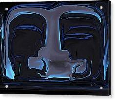 Acrylic Print featuring the digital art You N Me by Rabi Khan
