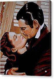 You Need Kissing Badly Acrylic Print
