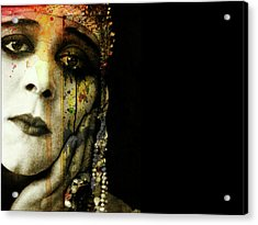 Acrylic Print featuring the mixed media You Never Got To Hear Those Violins by Paul Lovering