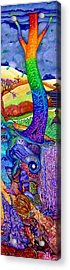 You Should See What's Further Down Acrylic Print by Jane Tripp
