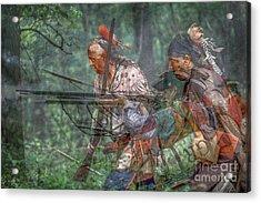 You Were There...battle Of Bushy Run Acrylic Print by Randy Steele