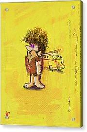 Young Barney Acrylic Print