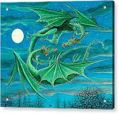 Young Dragons Frisk Acrylic Print