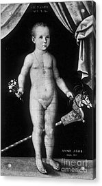 Young Felix Plater, Swiss Physician Acrylic Print by Science Source