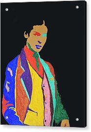 Young Frida K Acrylic Print by Stormm Bradshaw