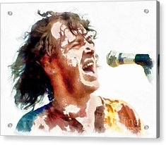 Young Joe Cocker Acrylic Print