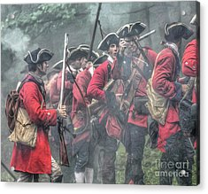 Young Lions French And Indian War  Acrylic Print
