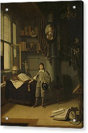 Young Man In A Study, 1650 Acrylic Print
