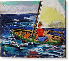 Acrylic Print featuring the painting Young Sailor by John Williams