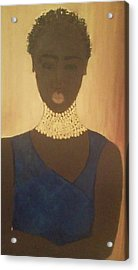Young Sudanese Woman Acrylic Print by Susan Madison