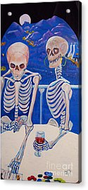 Your Call Acrylic Print by George Chacon