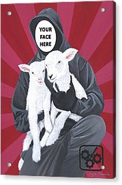 Your Face Here Acrylic Print by Twyla Francois