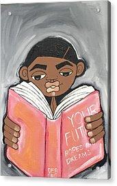 Your Future Boy Acrylic Print