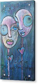 Your Haunted Heart And Me Acrylic Print
