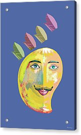 Your Highness A Acrylic Print by Thecla Correya