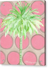 Your Highness Palm Tree Acrylic Print