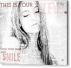 Your Life Acrylic Print