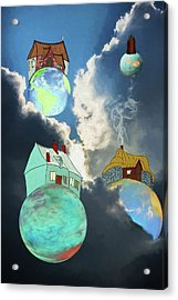 Your Own Little World Acrylic Print