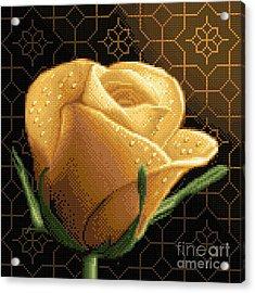 Your Rose Acrylic Print by Stoyanka Ivanova