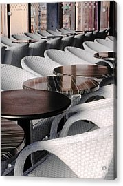 Your Table Is Ready Acrylic Print by Ann Johndro-Collins