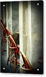 Your Tables Ready Acrylic Print by Cabral Stock