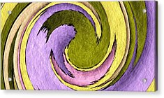 Your Ying To My Yang Acrylic Print by Terry Mulligan