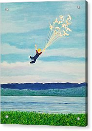 Youth Is Fleeting Acrylic Print