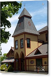 Youth Temple Of Ocean Grove New Jersey Acrylic Print