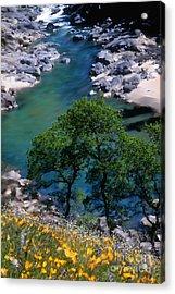 Yuba River In Spring Acrylic Print