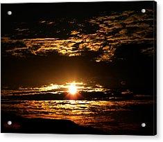 Yucca Valley Desert Sunrise Acrylic Print by Carlos Reyes