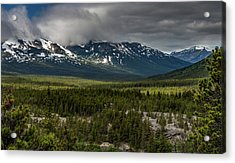 Yukon Wilderness Acrylic Print