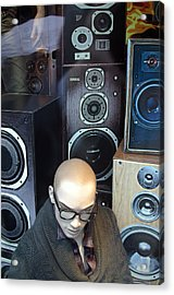 Yul Love The Sound Of These Acrylic Print by Jez C Self