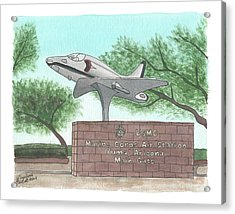 Yuma Welcome Acrylic Print
