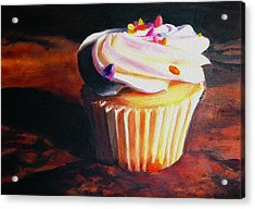 Yumm Acrylic Print by Shari Jones