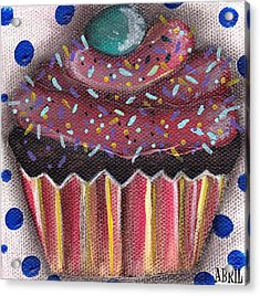 Yummy 5 Acrylic Print by  Abril Andrade Griffith