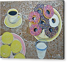 Yummy Acrylic Print by Norma Tolliver