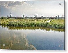 Zaandam Skyline Acrylic Print