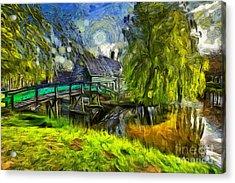 Zaanse Schans Acrylic Print