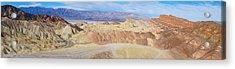 Zabriski Point Panoramic Acrylic Print