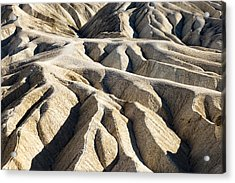 Zabriskie Point Badlands Acrylic Print