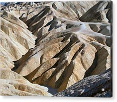 Zabriskie Point Acrylic Print by William Thomas