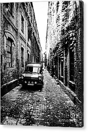 Zagreb Alley Acrylic Print by JMerrickMedia