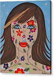 Zahir - Contemporary Woman Art Acrylic Print