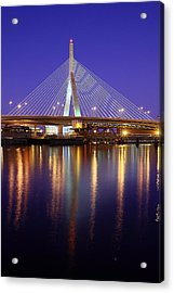 Zakim At Twilight II Acrylic Print
