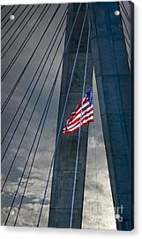 Zakim Bridge Boston Acrylic Print